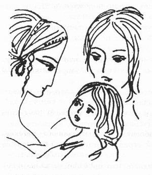 Надя Рушева. Маленькая принцесса. Изображение № 17.