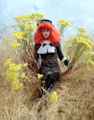 Модная съемка отТимаБертона. Изображение № 9.
