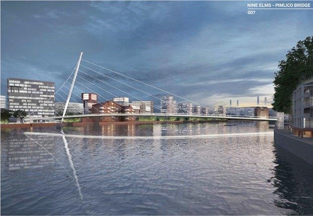 Выложены 74 проекта нового моста через Темзу. Изображение № 55.
