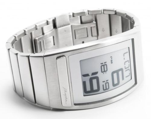 Часы Phosphor WORLD TIME с дисплеем из электронной бумаги. Изображение № 3.