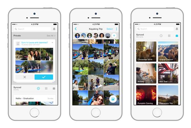 Facebook Creative Labs издало приложение для обмена фото. Изображение № 2.