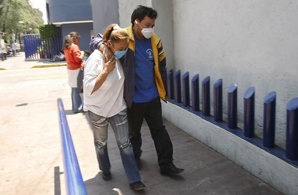 Свиной грипп вМексике. Изображение № 1.