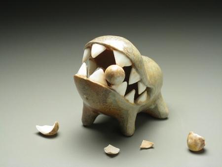 EvaFunderburgh забавные керамические монстры. Изображение № 20.