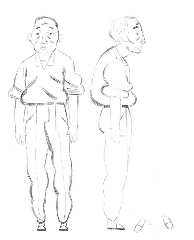 Анимация дня: японец, морской дух и груз прошлого. Изображение № 17.