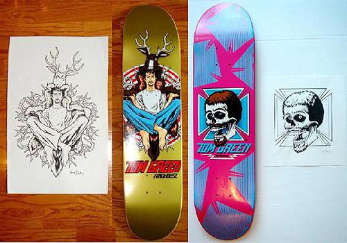К доске: 10 художников-скейтбордистов. Изображение №100.
