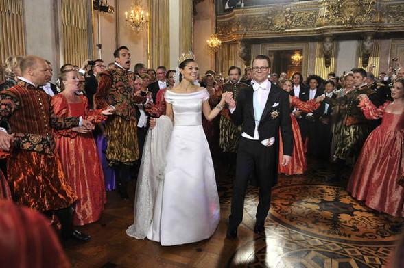 Свадьба шведской кронпринцессы Виктории. Изображение № 19.