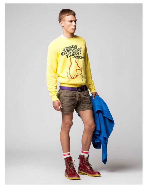 Dsquared2 Resort 2012 Lookbook. Изображение № 1.