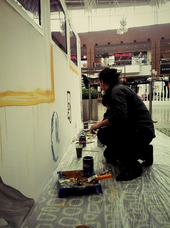 REALTIME art by ARTODOX на Модных Неделях в МЕГЕ.. Изображение № 2.