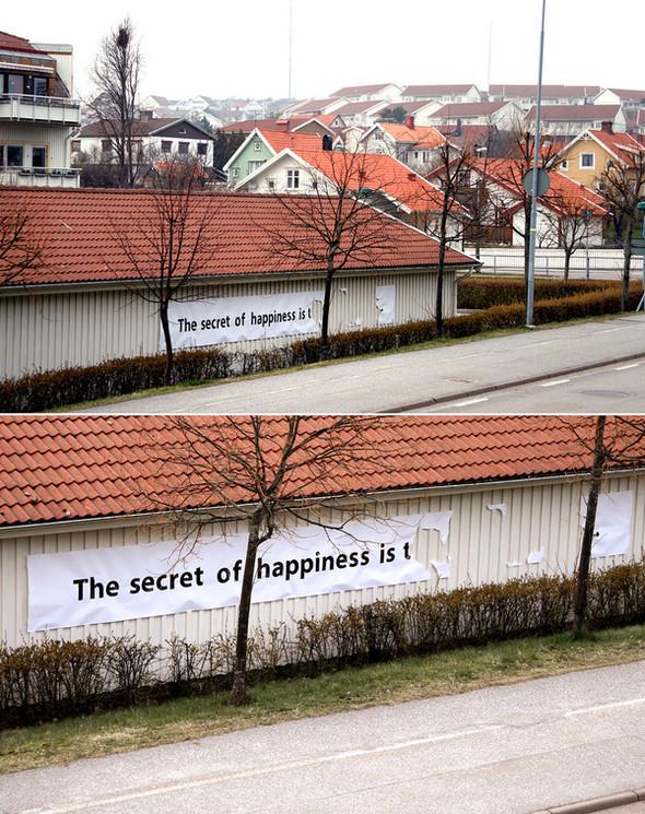 Уличные надписи Питера Дарта. Изображение № 1.