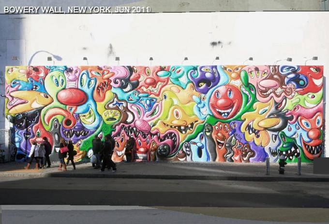 Историю граффити на одной стене восстановили с помощью Google Street View . Изображение № 9.