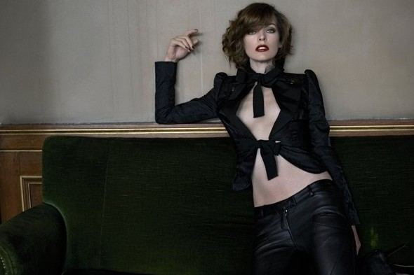Съёмка: Мила Йовович для S Moda. Изображение № 3.