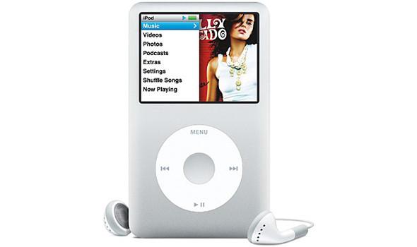 Ipod classic шестого поколения (начало выпуска - 2007 год). Изображение № 6.