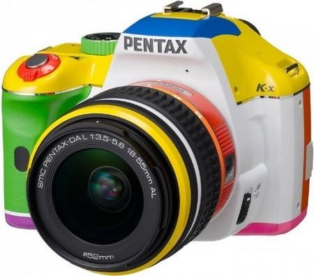Эксклюзивная K-x -- больше сумасшедших цветов от Pentax. Изображение № 1.