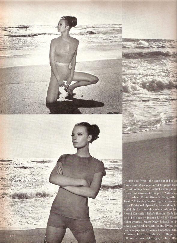 Архивная съемка: Хельмут Ньютон для Vogue. Изображение № 5.