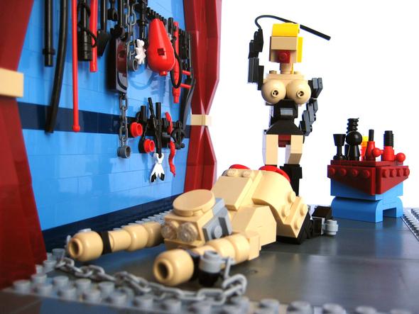 Садо-мазо LEGO. Изображение № 2.