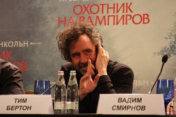 """Пресс-конференция """"Презиндент Линкольн: Охотник на вампиров"""". Изображение № 4."""