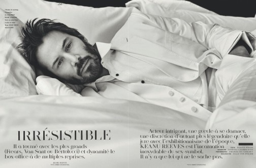 Keanu Reeves for Vogue Hommes. Изображение № 1.