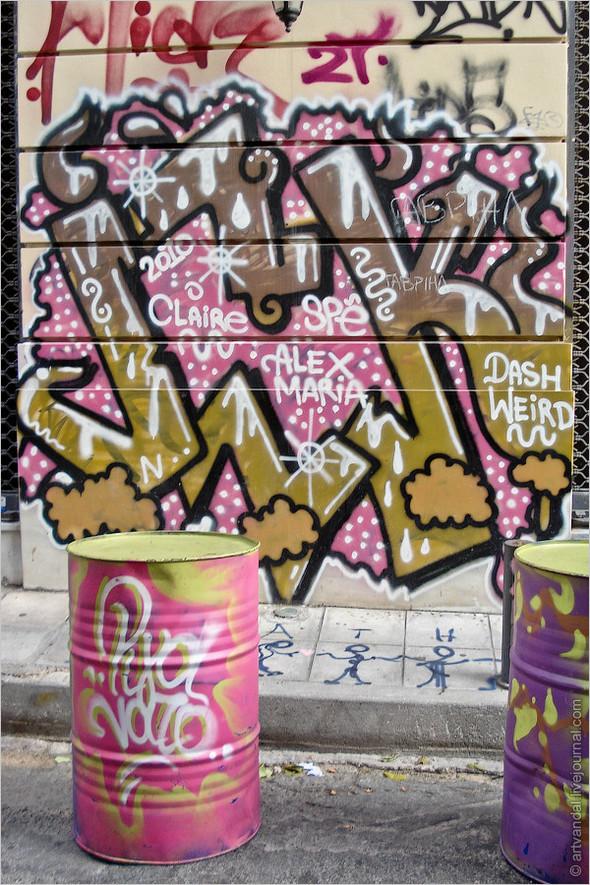 Стрит-арт и граффити Афин, Греция. Изображение № 37.