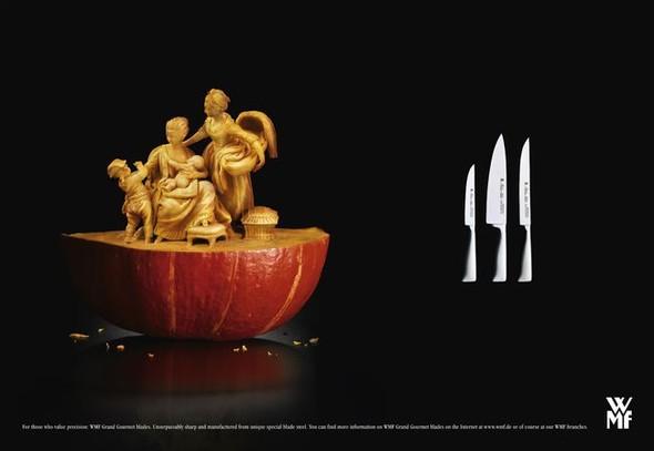 Креативная реклама ножей. Изображение № 3.