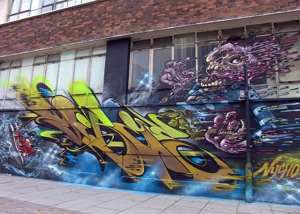 Стрит-арт в Лондоне. Изображение № 40.