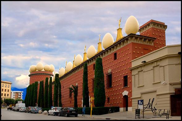 Дом-музей Сальвадора Дали вФигейросе, Испания. Изображение № 2.