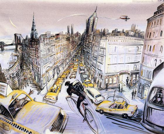 10 иллюстраторов журнала New Yorker. Изображение №38.
