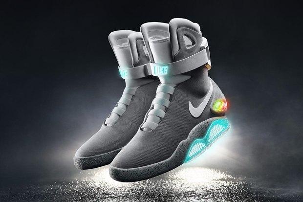 Nike выпустит обувь савтошнуровкой в2016 году. Изображение № 2.