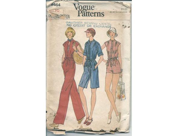 Выкройки Vogue, 1970-е. Изображение № 62.