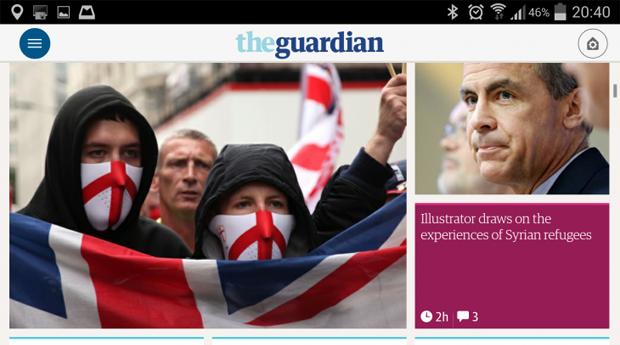 Мобильное приложение The Guardian получило глобальный редизайн. Изображение № 9.