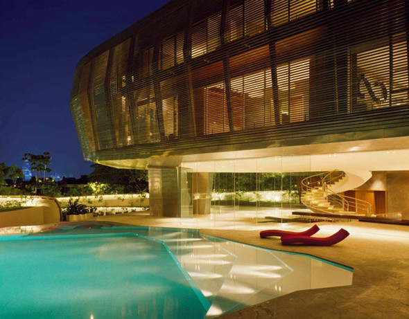 Резиденция вКуала-Лумпура. Малайзия. Изображение № 3.