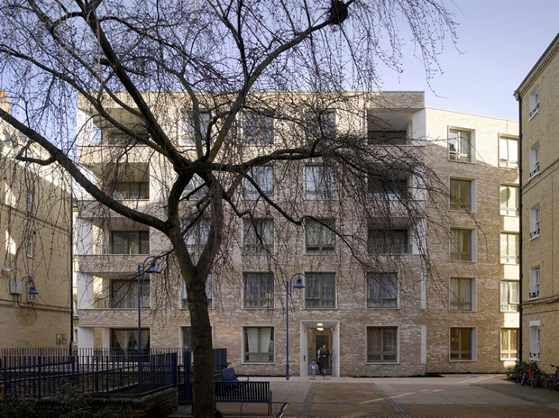 Darbishire Place (Лондон) по проекту Niall McLaughlin Architects. Изображение № 8.