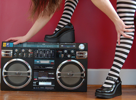 Lasonic Retro Ghetto Blaster. Изображение № 3.