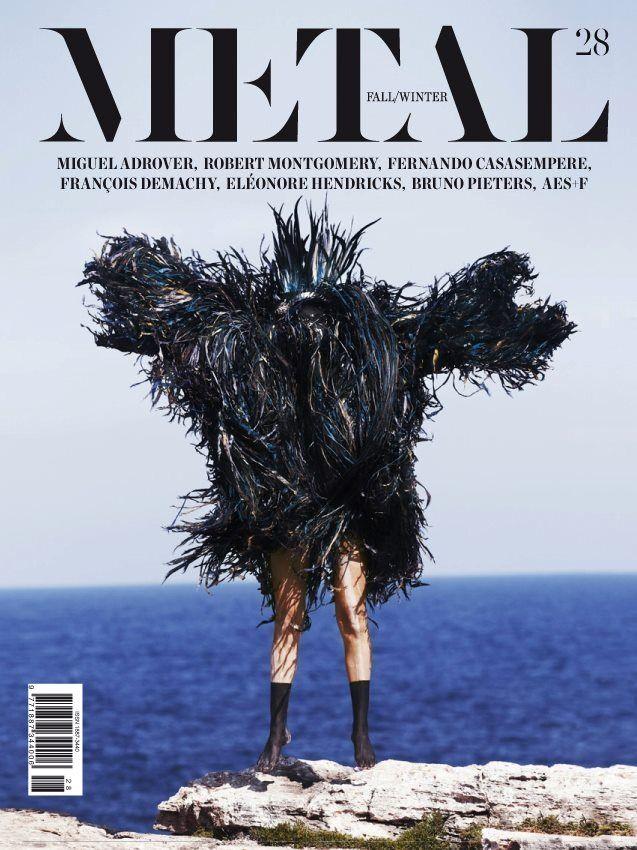 Показаны новые обложки Corduroy, Metal, Tush и других журналов. Изображение № 12.