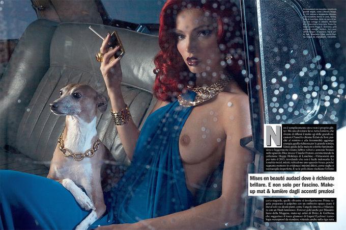 Dazed & Confused, Fat, Vogue и другие журналы выпустили новые съемки. Изображение № 78.