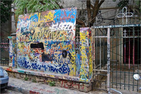 Стрит-арт и граффити Афин, Греция. Изображение № 2.