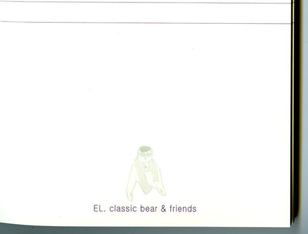 Ежедневники El Classic Bear - убийцы Молескина. Изображение № 8.