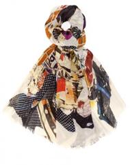 Завязать: 11 марок платков с принтами. Изображение № 63.
