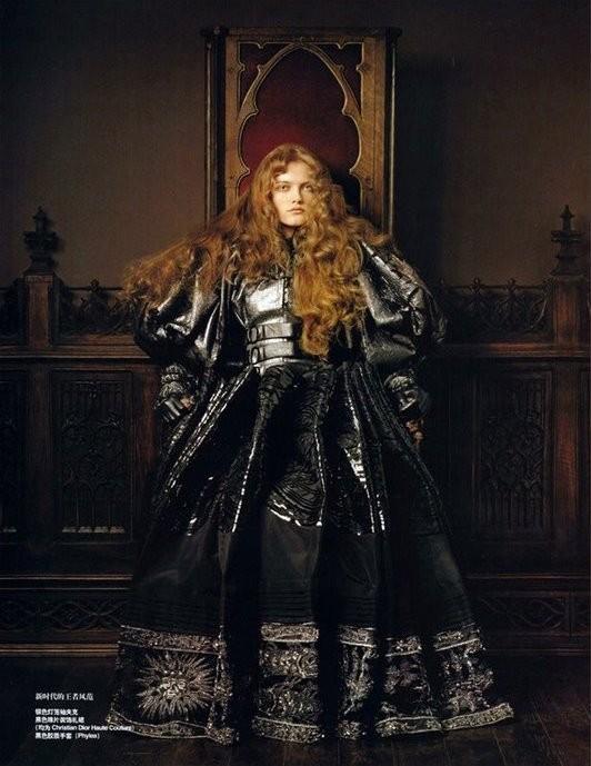 """Renaissance"" with Vlada Roslyakova byPierlugi Maco. Изображение № 6."