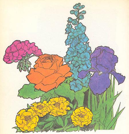1970s – Ещеодна шизофреничная книга одетских играх. Изображение № 5.