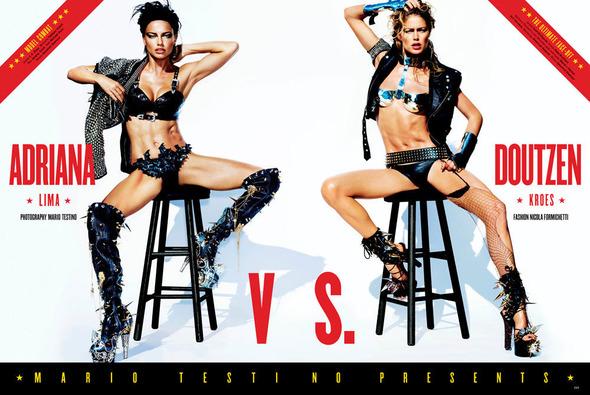 Быстрее, выше, сильнее: Модные съемки, вдохновленные спортом. Изображение №122.