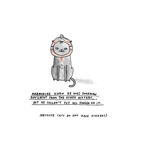 Gemma Correll и её коты. Изображение № 13.