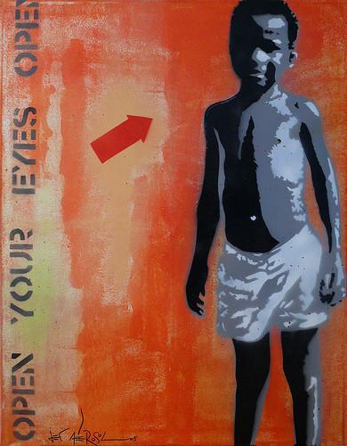 JefAérosol, уличный художник. Изображение № 7.