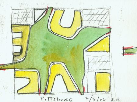 Архитектурные акварели стивена холла. Изображение № 29.