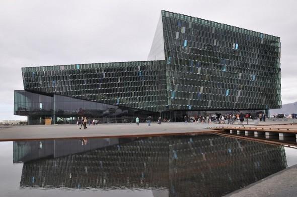 Культурный центр из стекла в Рейкьявике. Изображение № 5.