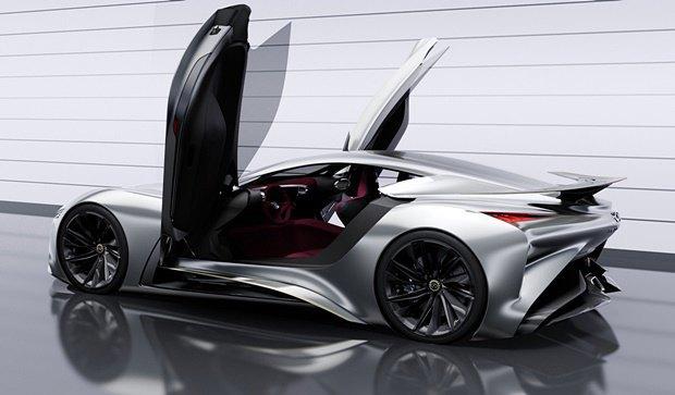 Концепт: суперкар Infiniti для игры Gran Turismo. Изображение № 8.