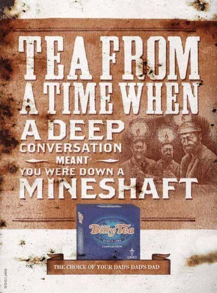 """Чай из тех времен, когда """"глубокий разговор"""" означал, что ты - в шахте. Изображение № 12."""