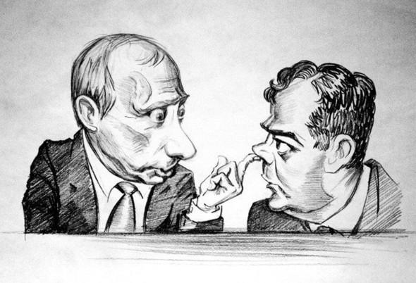 Карикатура-дура, штык-молодец. Изображение № 1.