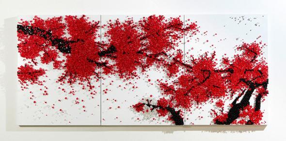 Тысячи мелочей: Настенные панно Рен Хванг. Изображение № 15.