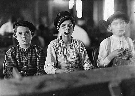 Эксплуатации детского труда в Америке (1910 год).И эмигранты США. Изображение № 20.