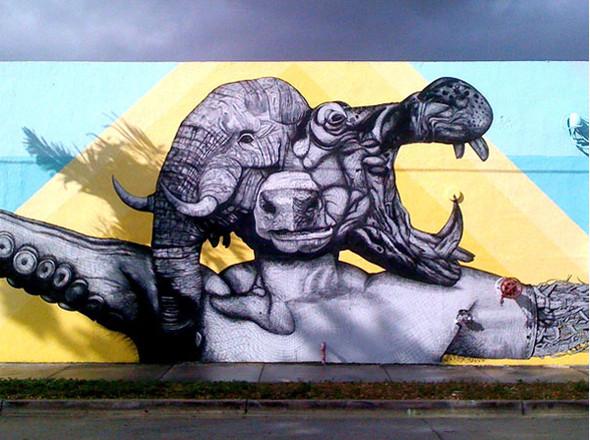 Лучшие стрит-арт проекты 2011 года. Изображение №23.